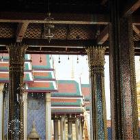 Temple District of Bangkok